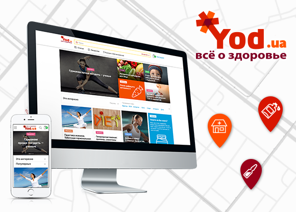 Yod.ua - medical internet service